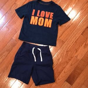 Cute boy's outfit, size 2t